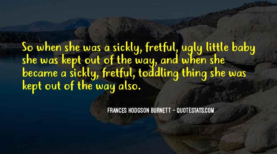 Sickly Quotes #1486689