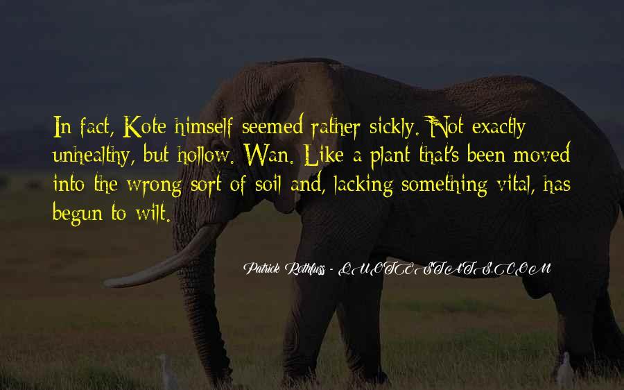 Sickly Quotes #271539