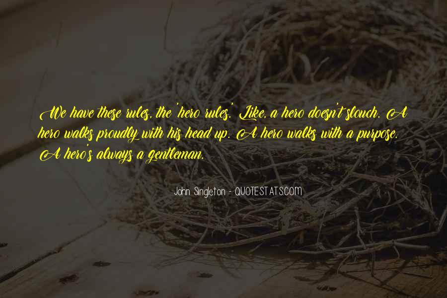 Singleton's Quotes #15163