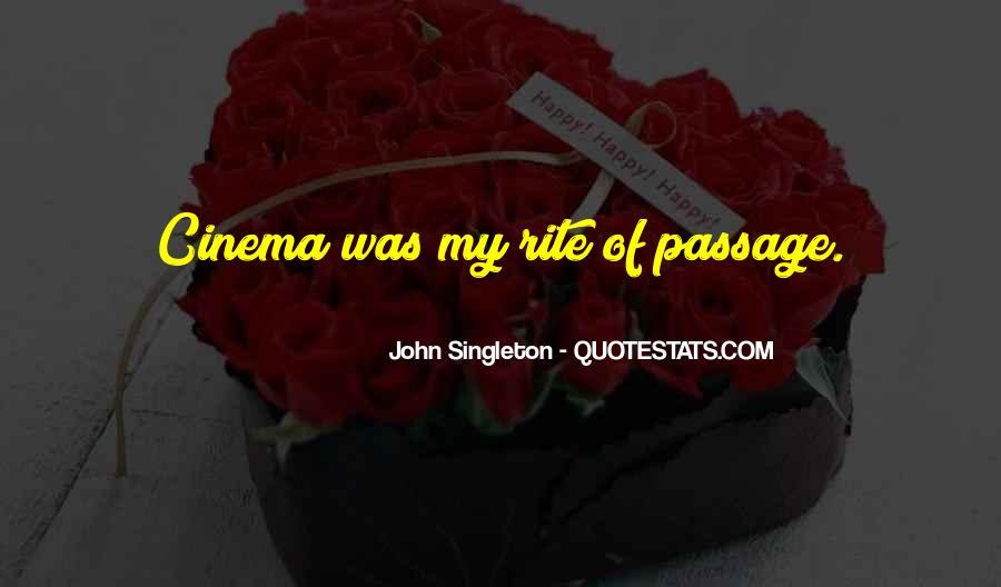 Singleton's Quotes #1595915