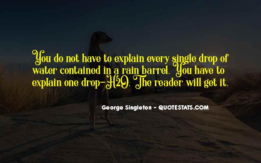 Singleton's Quotes #1642103