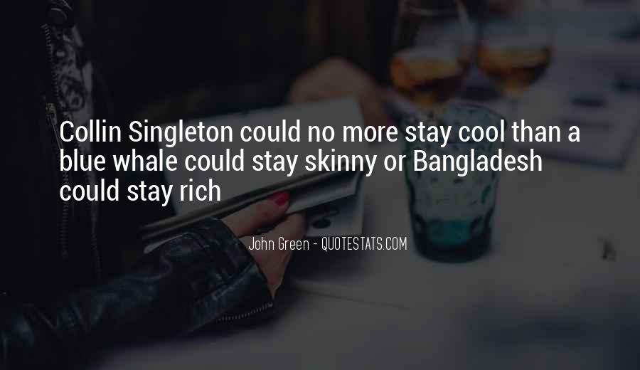 Singleton's Quotes #234180