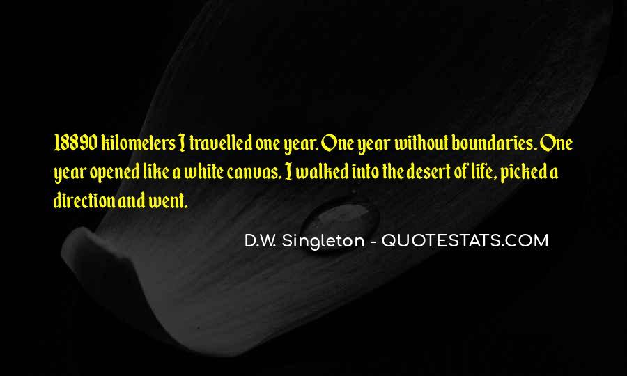 Singleton's Quotes #238315