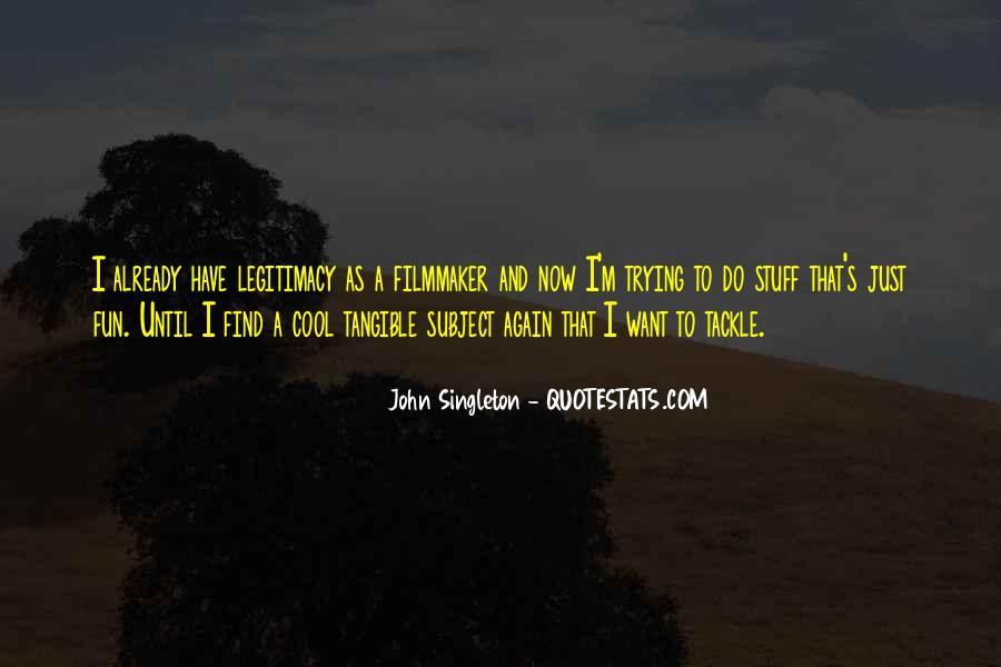 Singleton's Quotes #394371