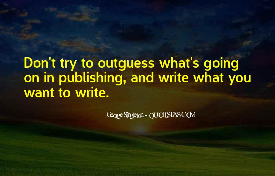 Singleton's Quotes #491425
