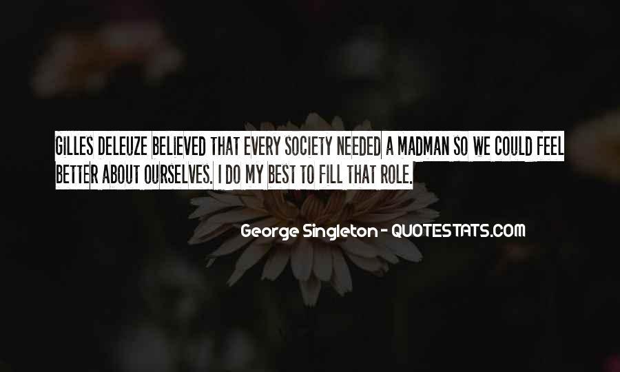 Singleton's Quotes #754128