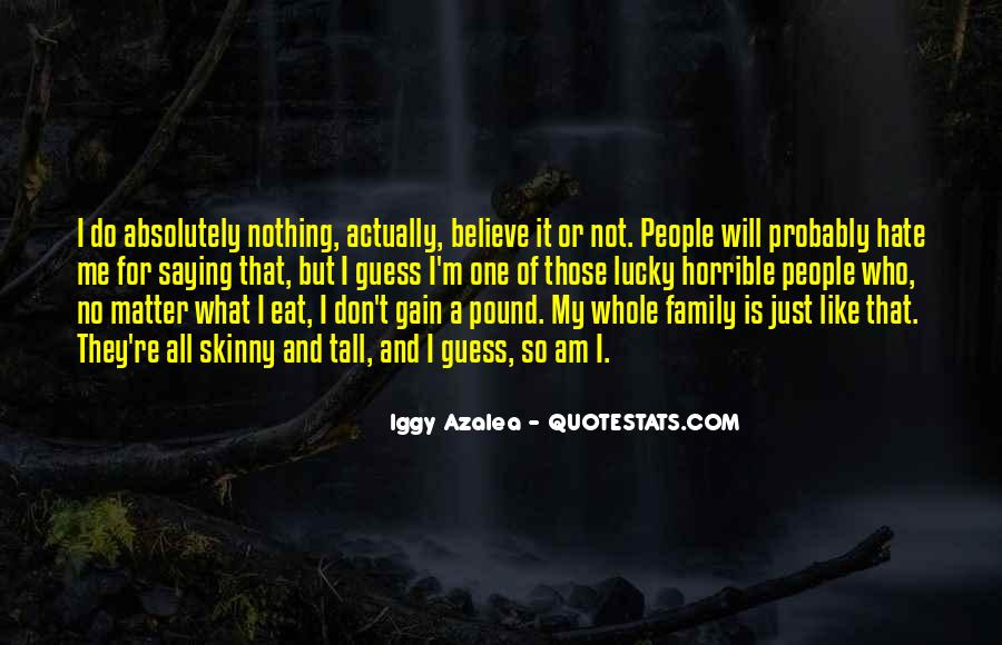 Quotes About Skinny People #1473333
