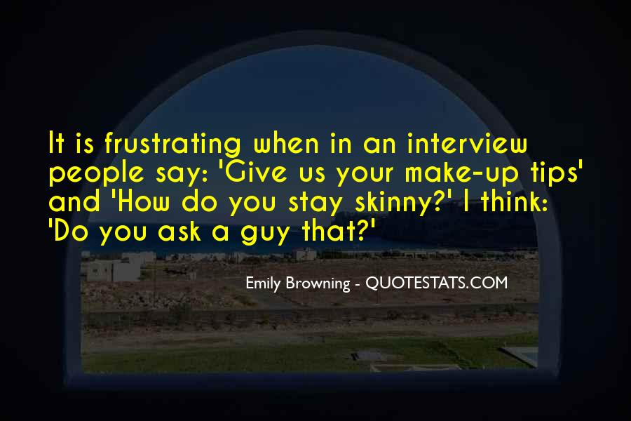 Quotes About Skinny People #470701