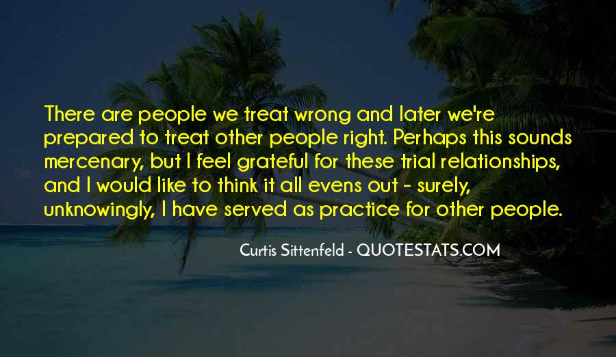 Sittenfeld Quotes #1109079