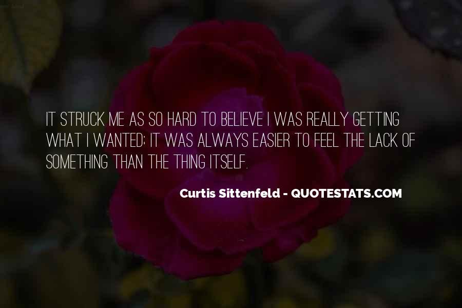 Sittenfeld Quotes #1120252