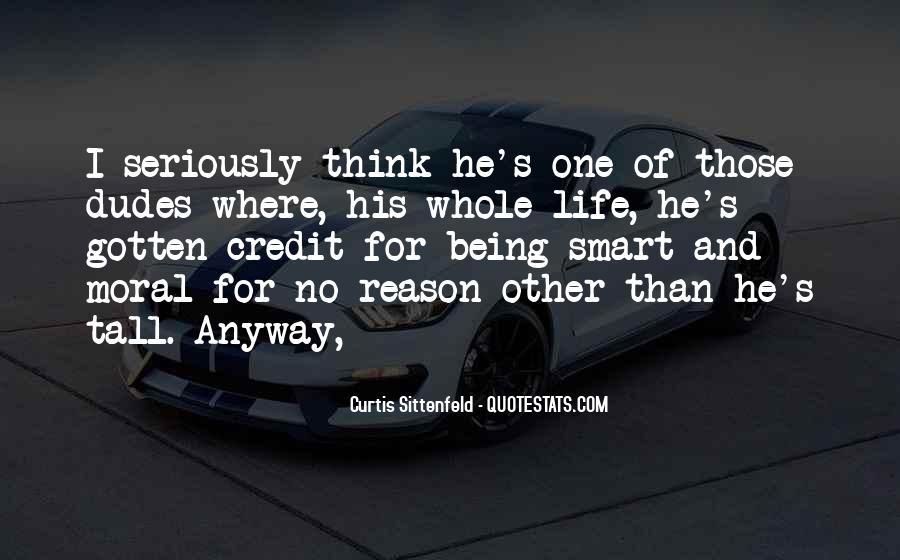 Sittenfeld Quotes #1138694