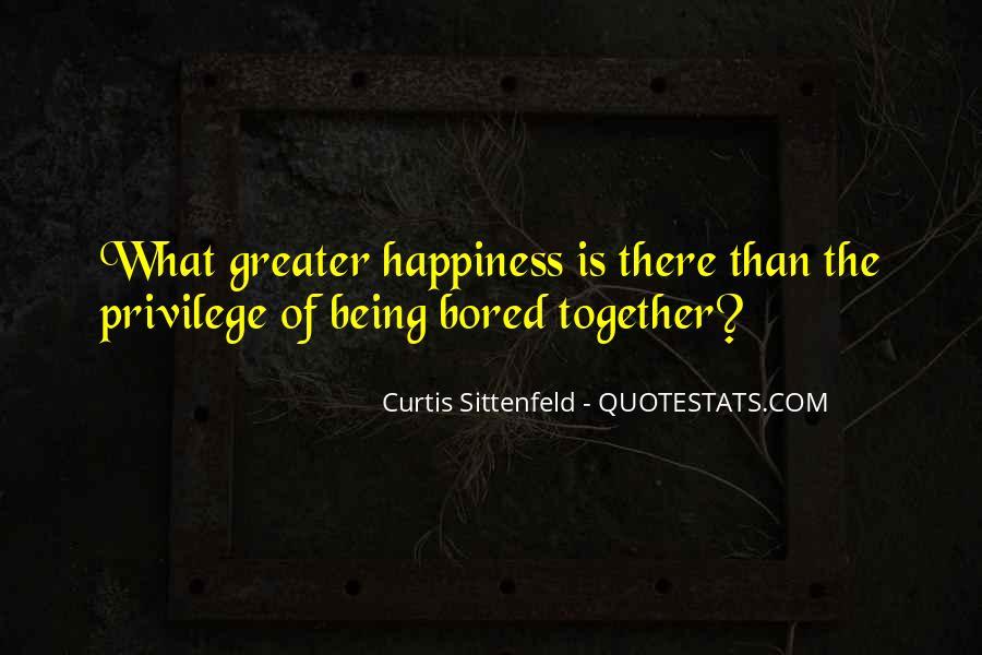 Sittenfeld Quotes #1151205