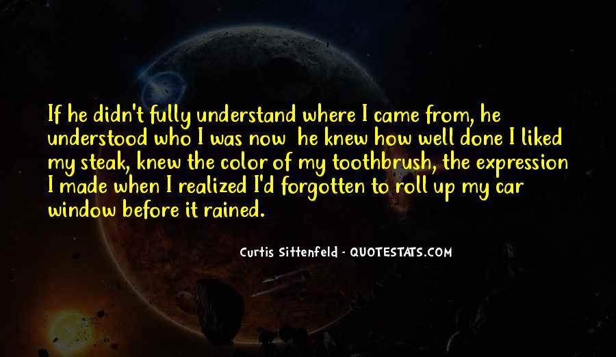 Sittenfeld Quotes #1154545