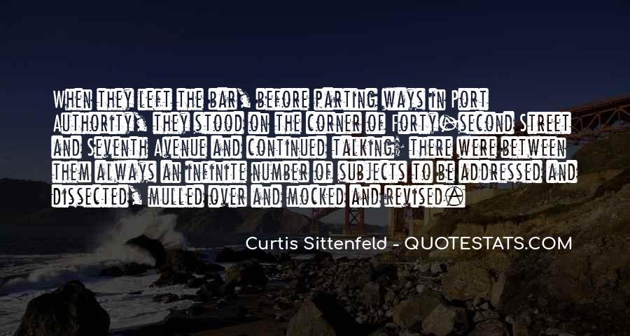 Sittenfeld Quotes #115838