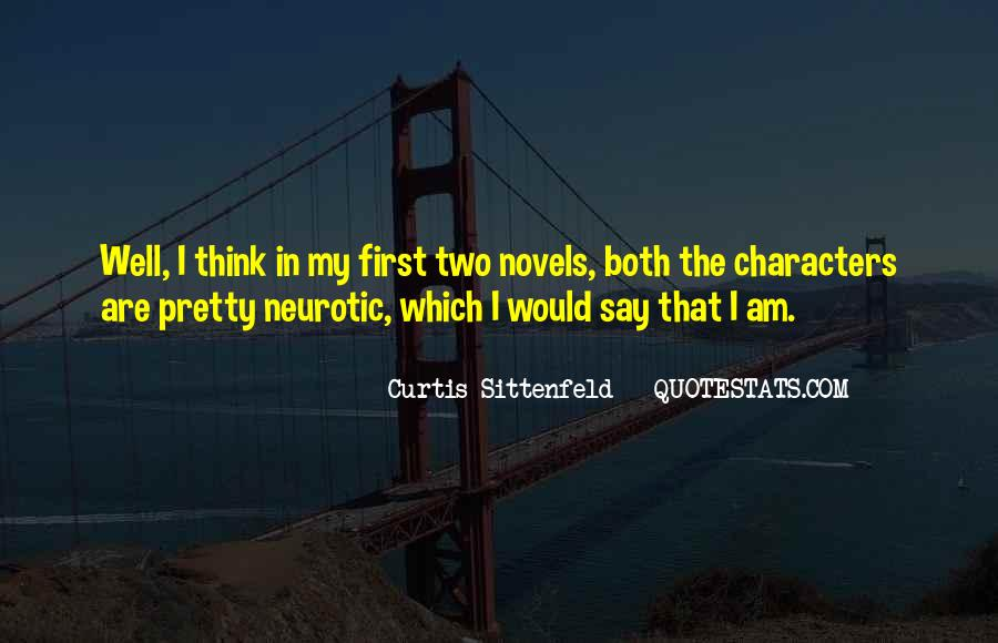 Sittenfeld Quotes #238865
