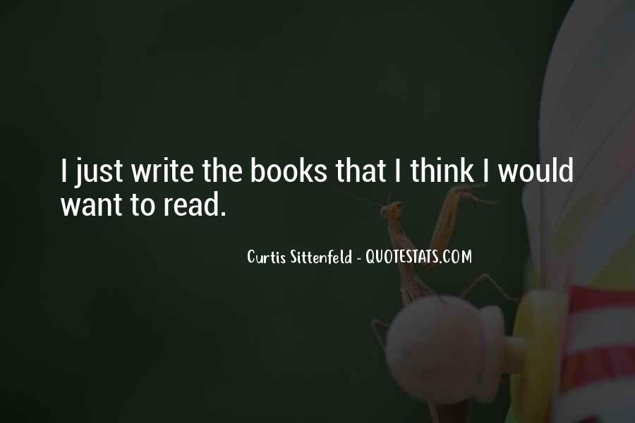 Sittenfeld Quotes #30346