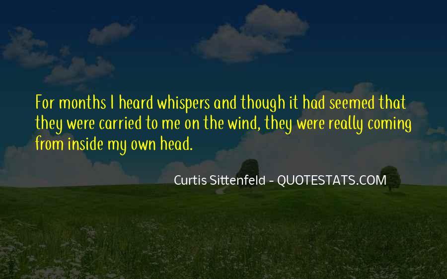 Sittenfeld Quotes #348453
