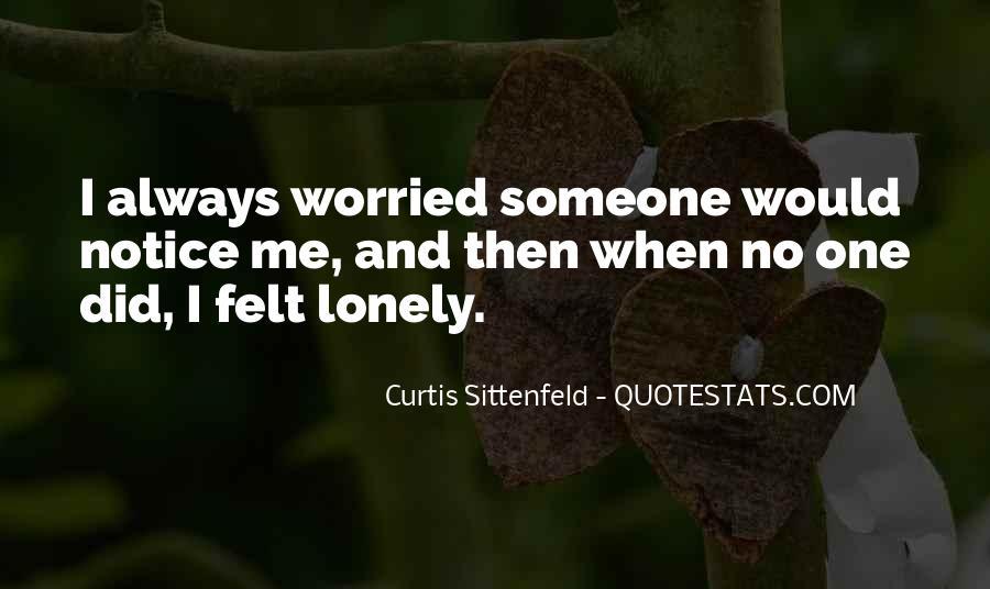 Sittenfeld Quotes #46022