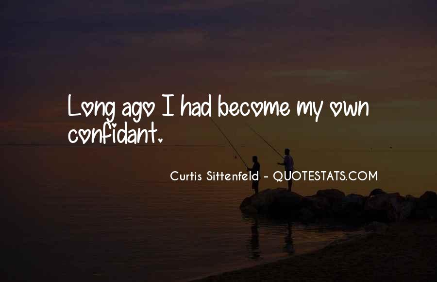 Sittenfeld Quotes #583458