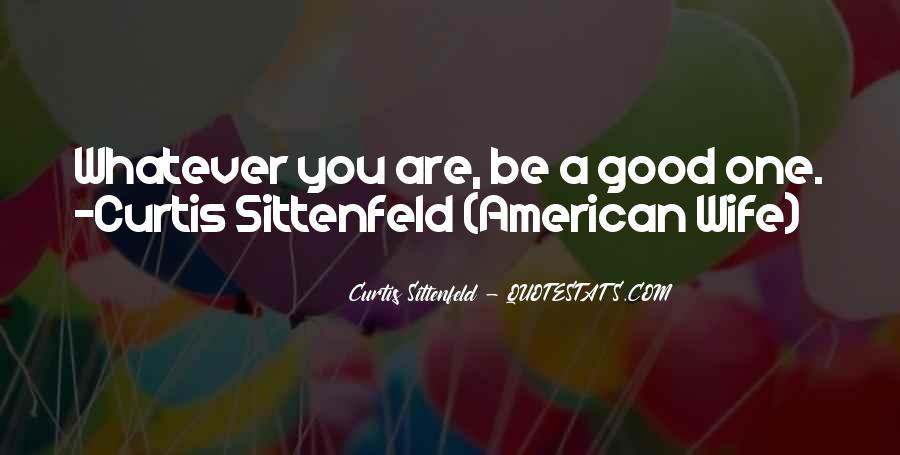 Sittenfeld Quotes #591880