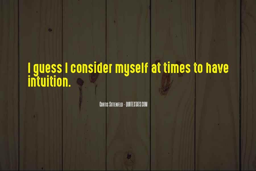 Sittenfeld Quotes #62567
