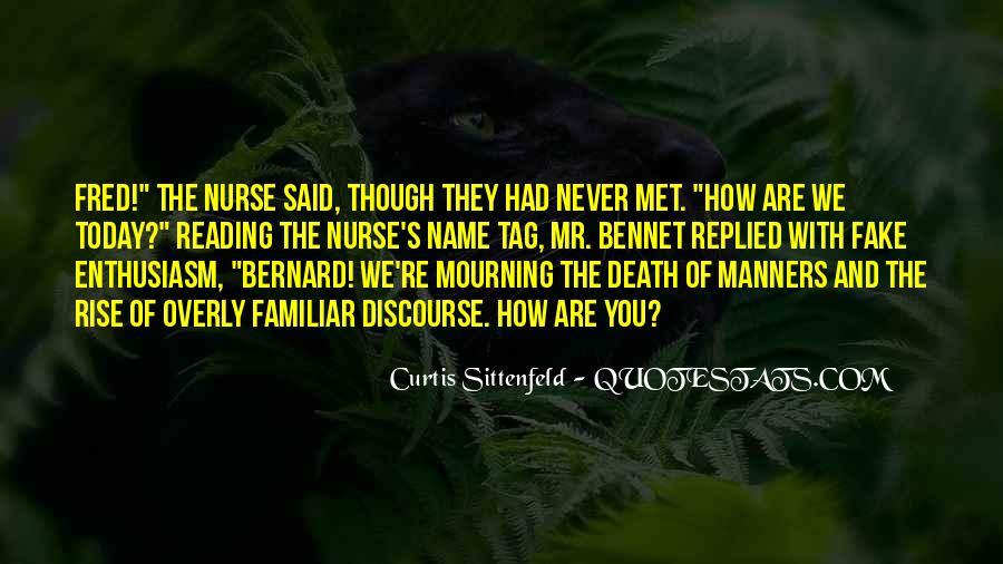 Sittenfeld Quotes #97405