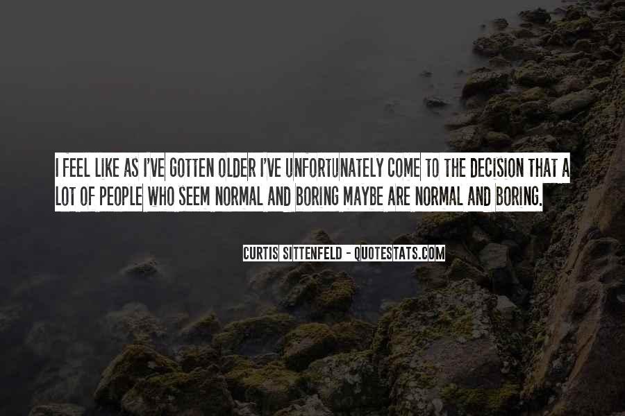Sittenfeld Quotes #978744