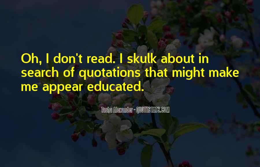 Skulk Quotes #314039