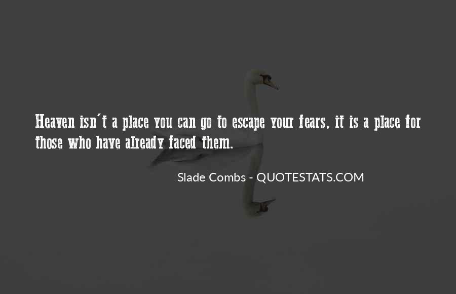 Slade's Quotes #322247