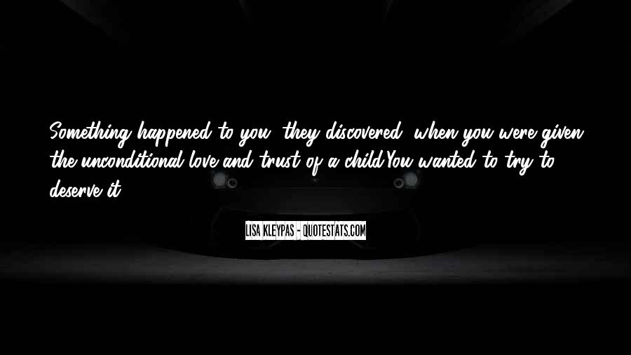 Quotes About When You Were A Child #1423290