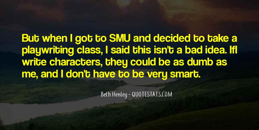 Smu's Quotes #762124