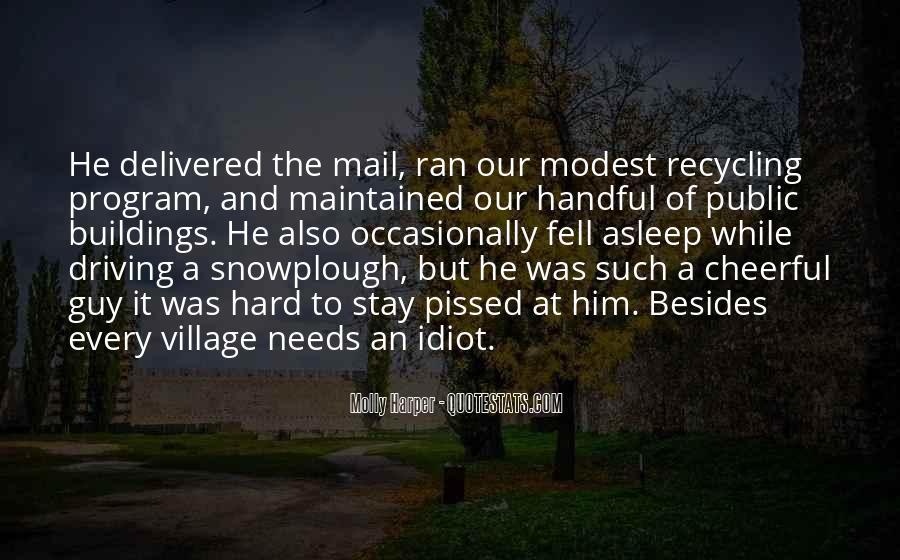 Snowplough Quotes #1570615