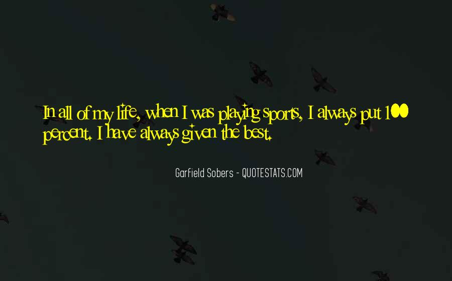 Sobers Quotes #615379