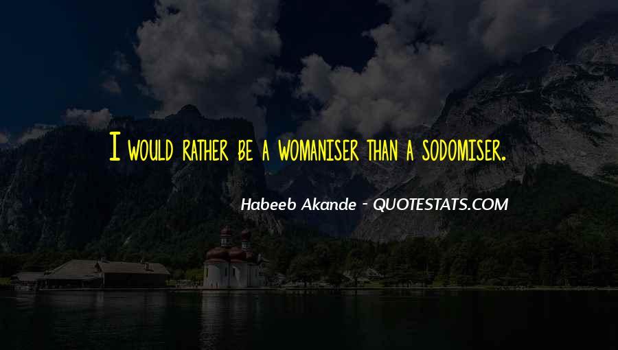 Sodomiser Quotes #1441026