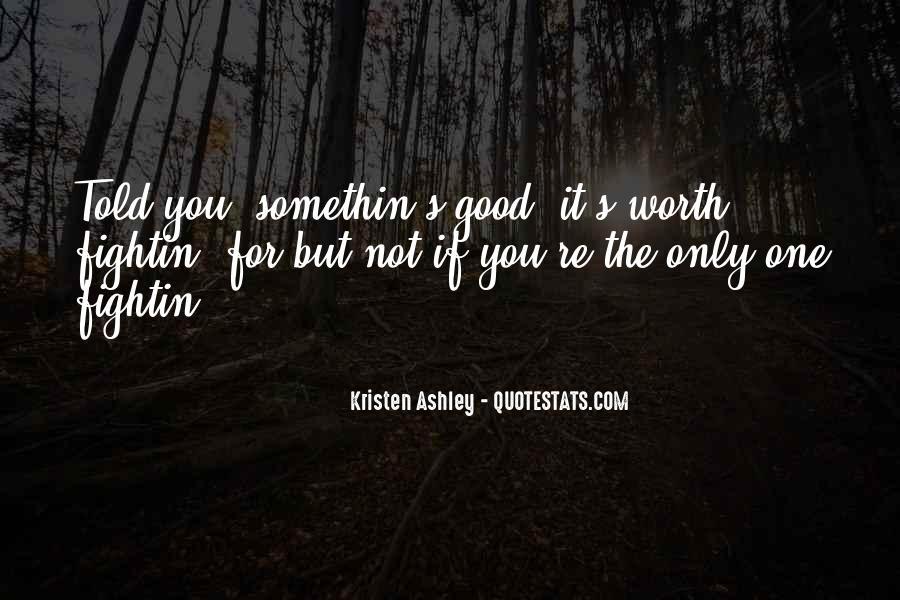 Somethin's Quotes #1271879