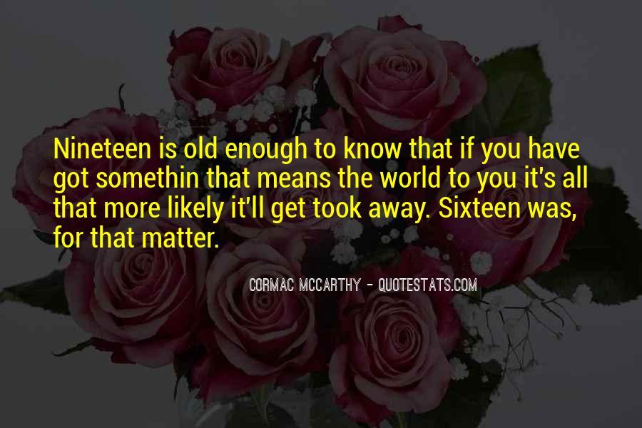 Somethin's Quotes #546894