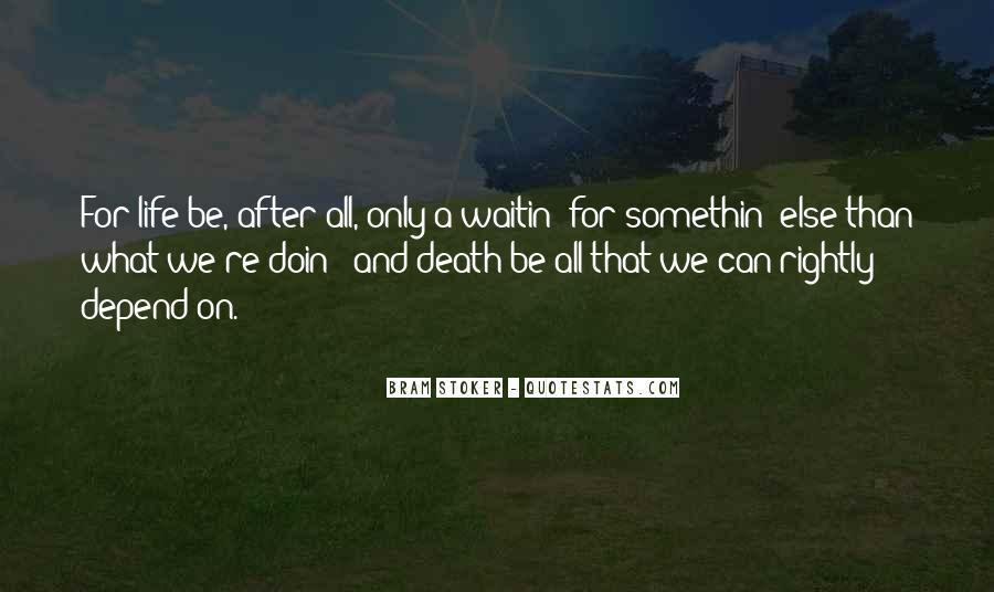 Somethin's Quotes #824517