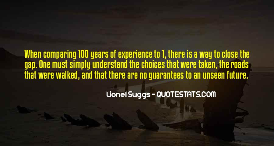 Quotes About The Uncertainty Of The Future #384539