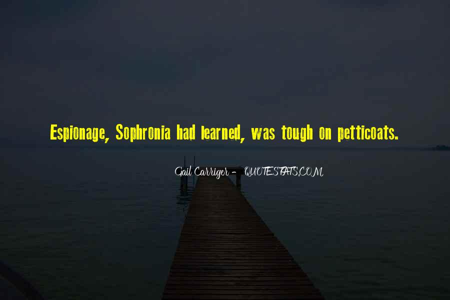 Sophronia's Quotes #1341802
