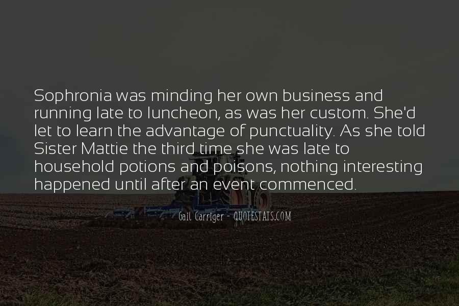 Sophronia's Quotes #1687625