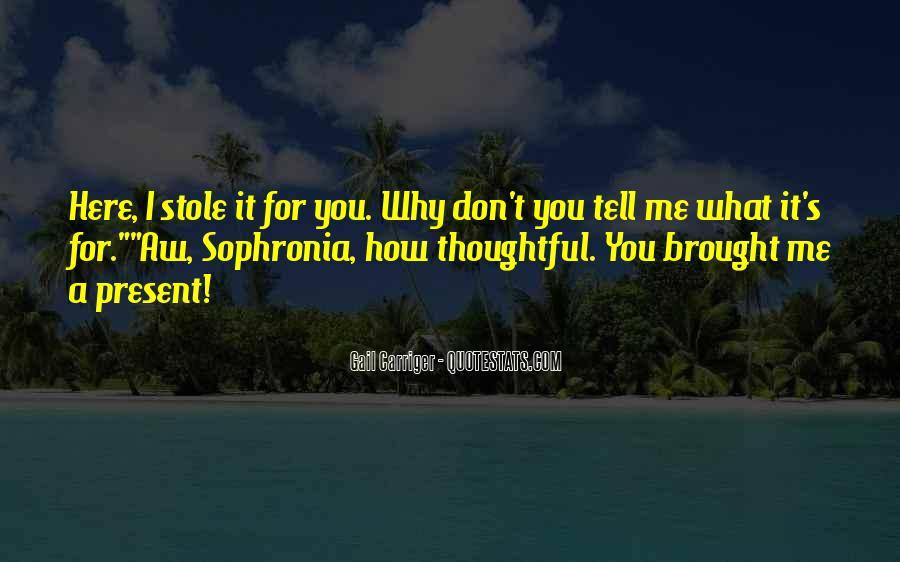 Sophronia's Quotes #630664