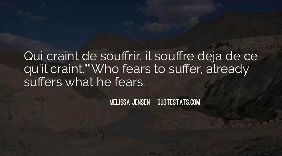 Souffre Quotes #1636181