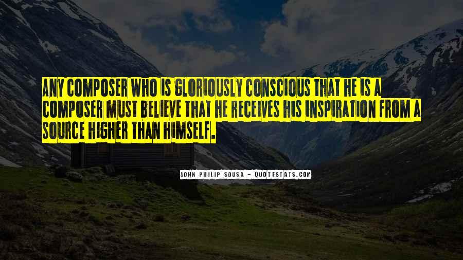 Sousa's Quotes #1054351