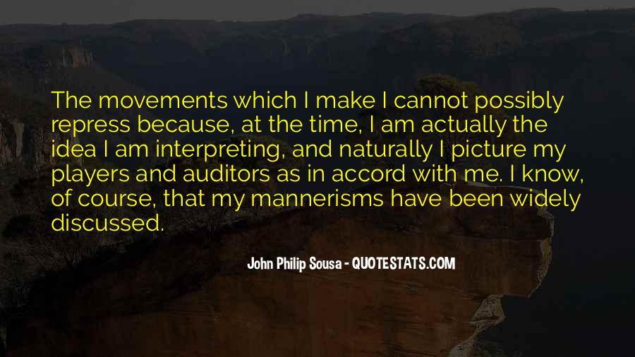 Sousa's Quotes #1094237