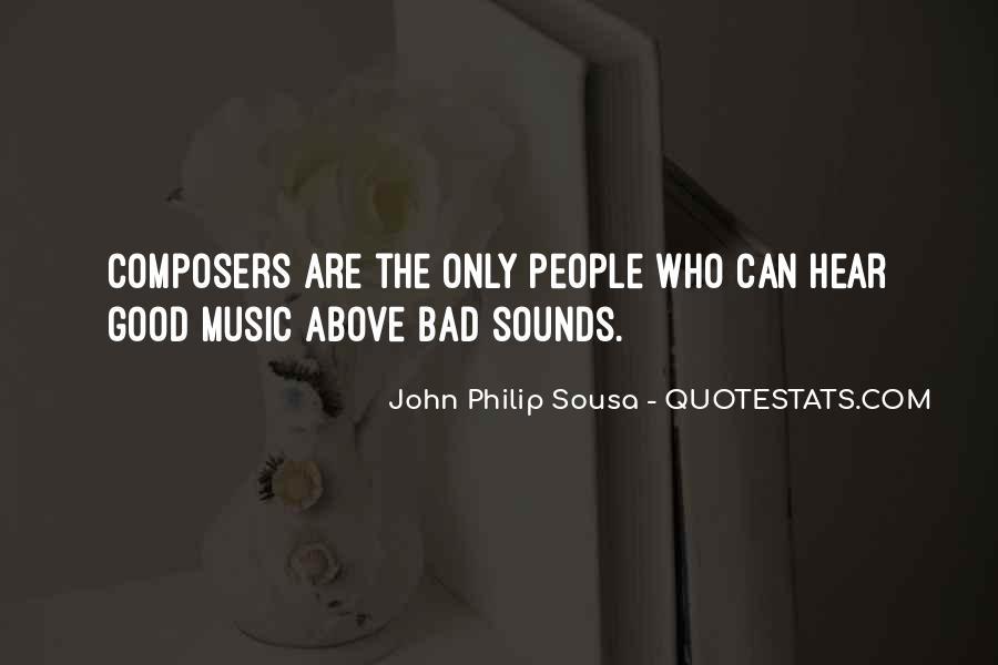 Sousa's Quotes #1255514
