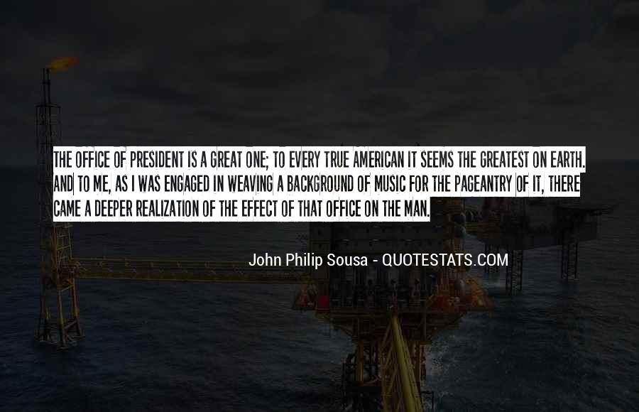 Sousa's Quotes #134342