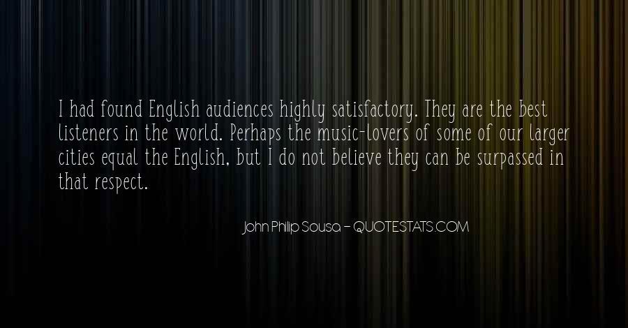 Sousa's Quotes #338956