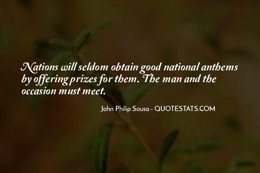 Sousa's Quotes #516546