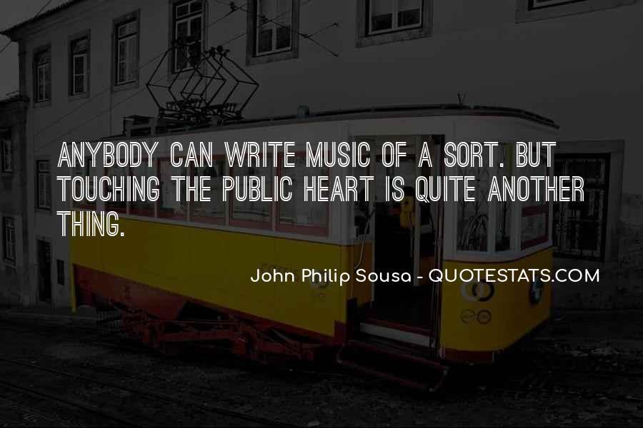 Sousa's Quotes #524810