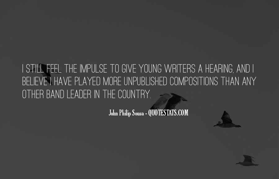 Sousa's Quotes #755974